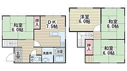[一戸建] 兵庫県神戸市垂水区塩屋町 の賃貸【/】の間取り