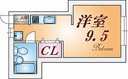 兵庫県神戸市須磨区妙法寺谷野の賃貸アパートの間取り