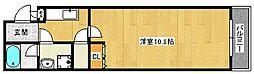 大阪府堺市北区百舌鳥梅町3丁の賃貸アパートの間取り