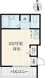 K-house練馬高野台I[1階]の間取り