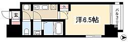 ファステート名古屋ラプソディ 9階1Kの間取り