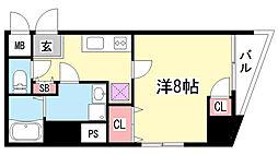 コンフォール元町[4階]の間取り