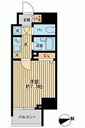 HF早稲田レジデンス[0604号室]の間取り