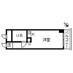 TOP・成城学園[0411号室]の間取り