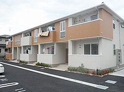 福岡県古賀市舞の里1丁目の賃貸アパートの外観