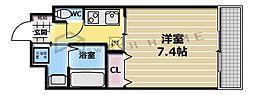 レガーロ布施[3階]の間取り