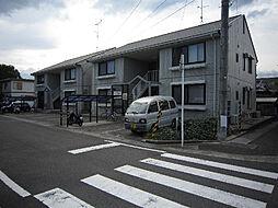 愛媛県東温市野田1丁目の賃貸アパートの外観