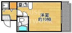 パレ北白川佐わらび[302号室号室]の間取り