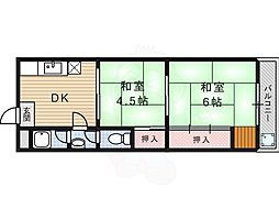 JR藤森駅 4.5万円