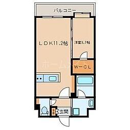LUCIS高宮[9階]の間取り