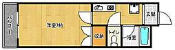 京都府京都市伏見区深草西浦町3丁目の賃貸マンションの間取り