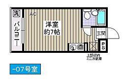 アリタマンション[407号室]の間取り