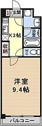 エンゼルプラザ瀬田駅前[305号室号室]の間取り