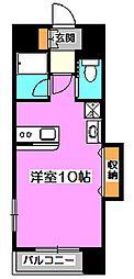 桜WILL[8階]の間取り