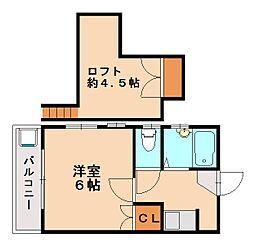 メゾンD&D[1階]の間取り