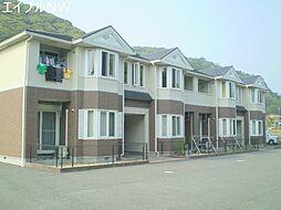 三重県多気郡大台町下楠の賃貸アパートの外観
