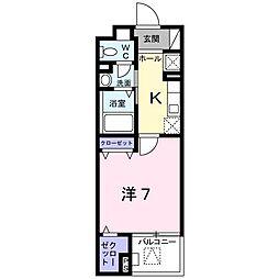 セレノ・コリーナ・ダイマチ[0104号室]の間取り