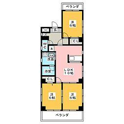 ステージ数奇屋[2階]の間取り