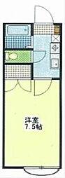 フラット2[1階]の間取り