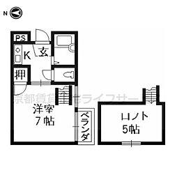 アトレ堺町[203号室]の間取り