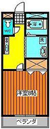 センティースマンション[209号室]の間取り