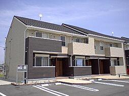 三重県津市河芸町影重の賃貸アパートの外観