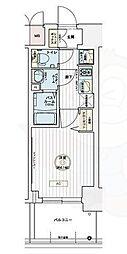 JR東海道・山陽本線 兵庫駅 徒歩9分の賃貸マンション 11階1Kの間取り