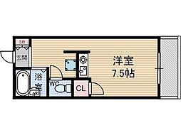 MMクラブ[3階]の間取り