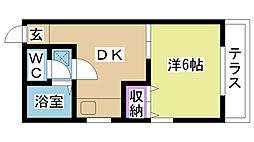 MKマンション[105号室]の間取り