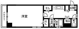 グランディ薬院I[2階]の間取り