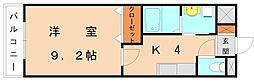 福岡県糟屋郡新宮町下府5丁目の賃貸アパートの間取り