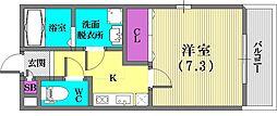 KTIレジデンス神戸元町[1階]の間取り
