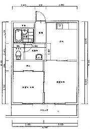 第三藤ビル[1階]の間取り
