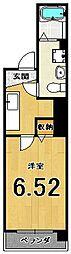 ブリエ五条大宮[401号室]の間取り