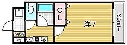 ラピュタ21[307号室]の間取り