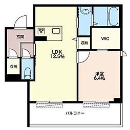 仮)江戸川区北小岩5丁目シャーメゾン[3階]の間取り