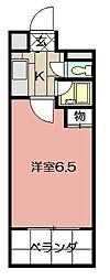 アルテハイム小倉II[610号室]の間取り