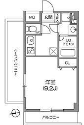 ガーラプレイス八幡山弐番館[0207号室]の間取り