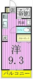 千葉県松戸市三矢小台2丁目の賃貸マンションの間取り