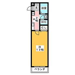 Palette−O4[2階]の間取り