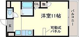 グランフルーリ[1階]の間取り