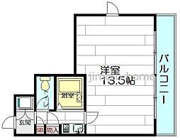 ラレジダンスド江坂[2階]の間取り