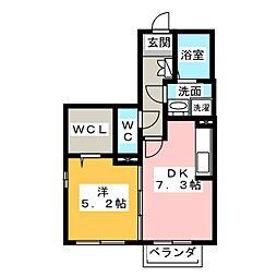 マノワールE・Y[1階]の間取り