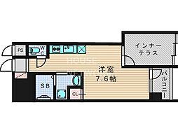 DAIWA RESIDENCE KYOTO[103号室号室]の間取り