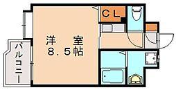 セレステ筑紫丘[2階]の間取り