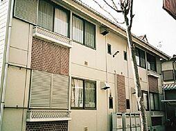 京都府城陽市富野荘北垣内の賃貸アパートの外観