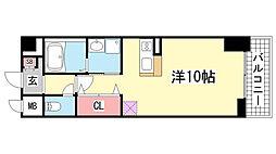 プラチナコート[5階]の間取り