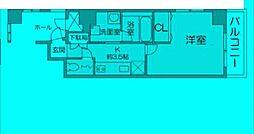 東京都豊島区雑司が谷の賃貸マンションの間取り