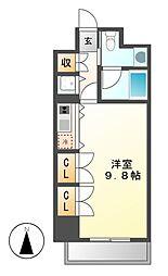 エクセレンス桜山[3階]の間取り