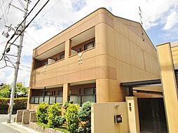 大阪府枚方市春日元町1丁目の賃貸アパートの外観